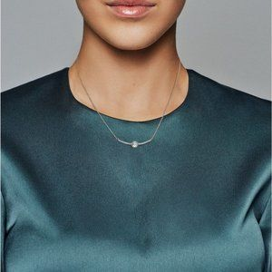 Pandora Jewelry - Round Sparkle Necklace